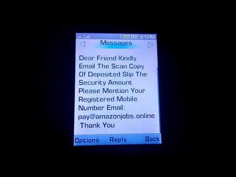 Beware fraud alert fake delivery boy job  cheating Website amazon jobs. Online