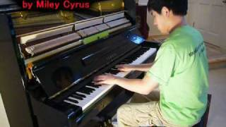 Miley Cyrus - When I Look At You (Piano Cover) Music Video