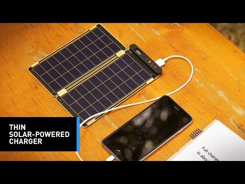 Solar Paper: The Portable Solar Panel Charger You Need For Your Electronics