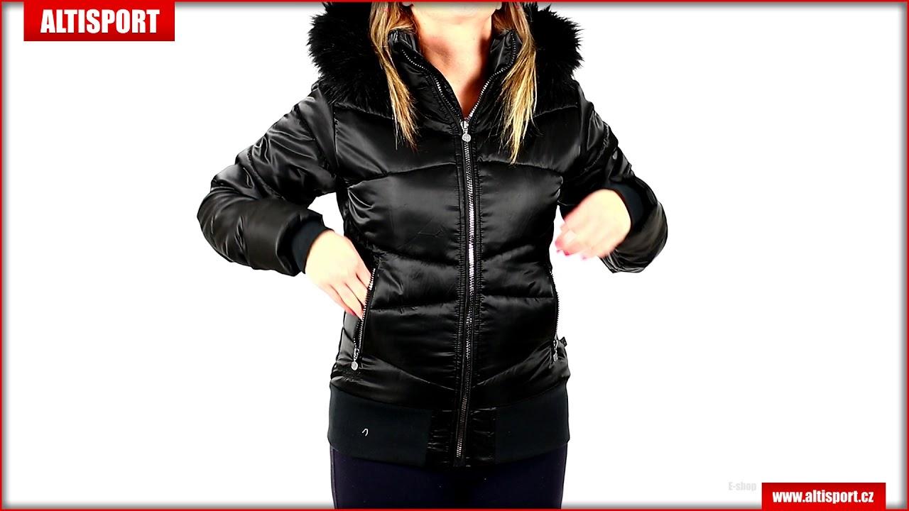 dámská zimní bunda altisport tatre černá - YouTube 7a35c77d207