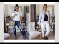 Spring Clothing Haul: The Essentials + Try On I Zara, Bebe, Gucci & More I Chelsey Washington