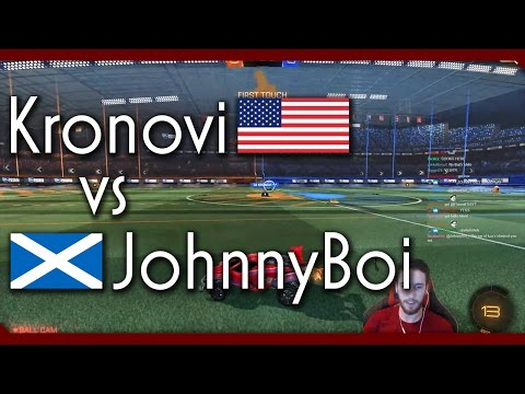 KRONOVI vs JOHNNYBOI | Rocket League KBM 1v1