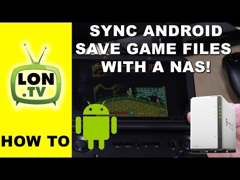 Syncing Android Emulator Save Game Data Across Devices Using Synology NAS And Cloud Station