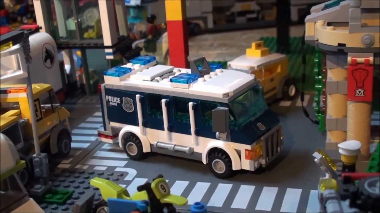 LEGO City Museum Break-In Review : LEGO 60008 - YouTube