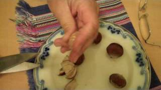 Shelling chestnuts: The easy way