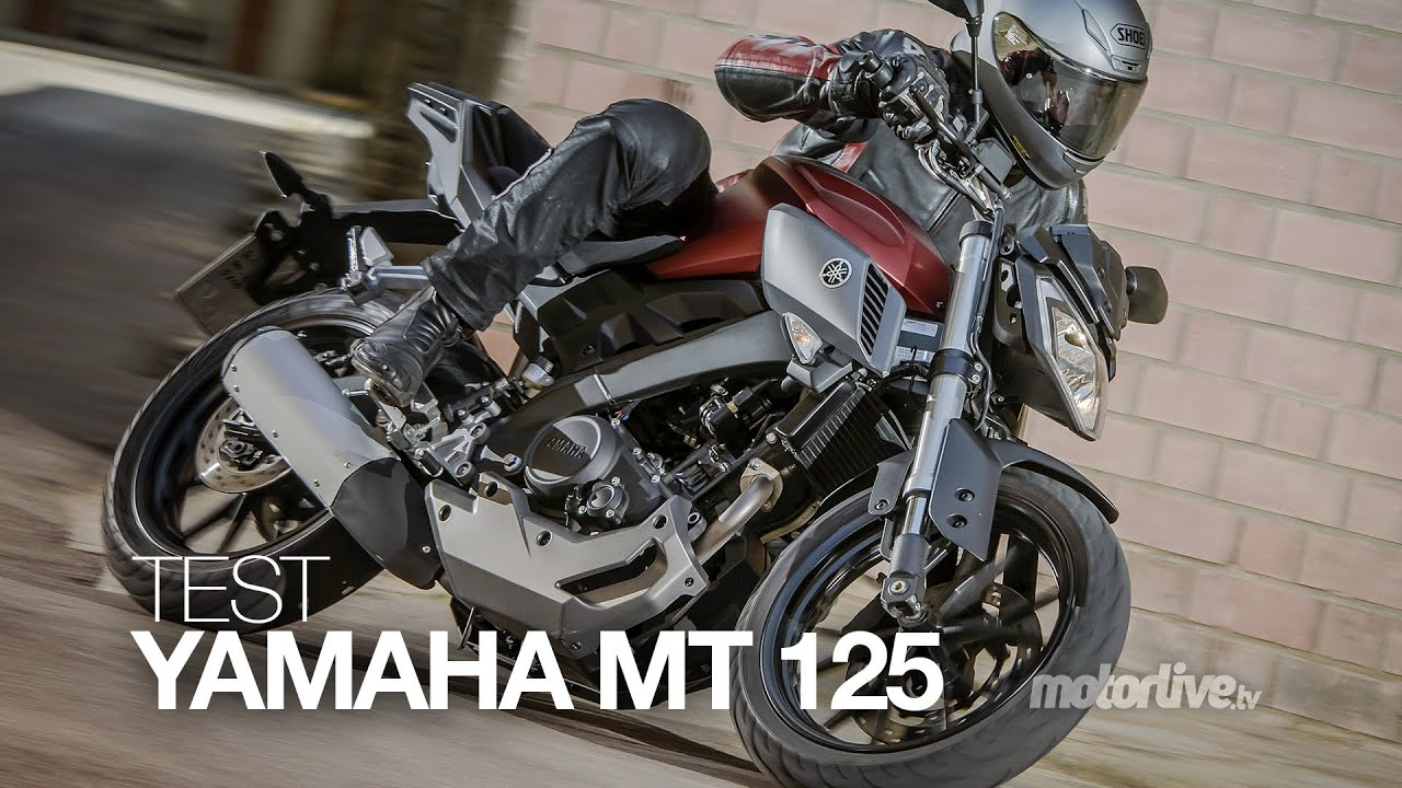 test yamaha mt 125 la mt pour bien d buter youtube. Black Bedroom Furniture Sets. Home Design Ideas