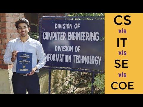 Computer Science Vs Information Technology 🔥 Vs COE Vs CSE Vs SE | The Real Difference🔥
