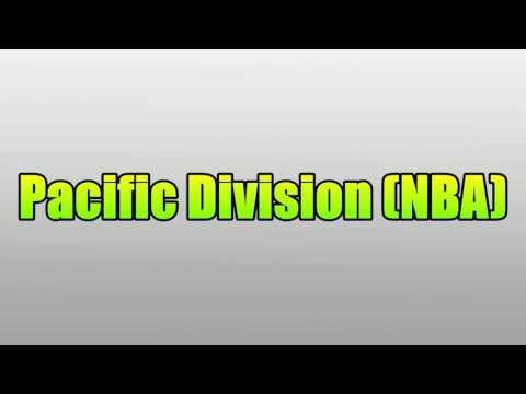 Pacific Division (NBA)