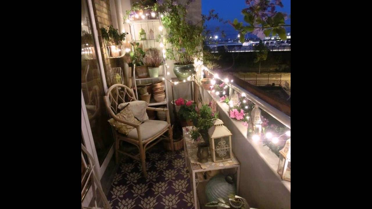 Lighting for small balconies - Small Balcony Lighting Designs