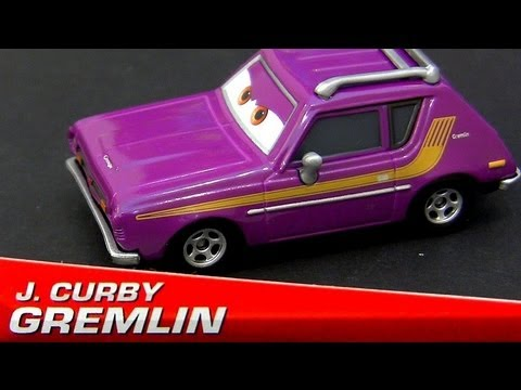 Cars 2 J. Curby Gremlin From Lemons Series Edition 2013 Disney Pixar Diecast toys review