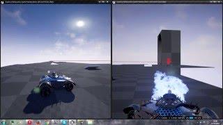 UE4 Giants of destruction Multiplayer test