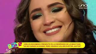 Bigote 31 de julio 2018 CARLOS ROCABADO SE DESPIDE DE ORIANA