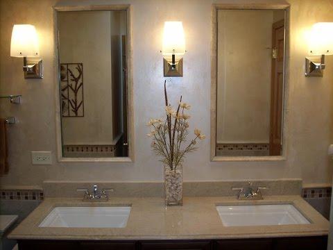 Best Pics of Art Deco Bathroom Vanity with Mirror and Lights