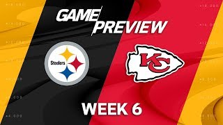 Pittsburgh Steelers vs. Kansas City Chiefs | Week 6 Game Preview | Move the Sticks