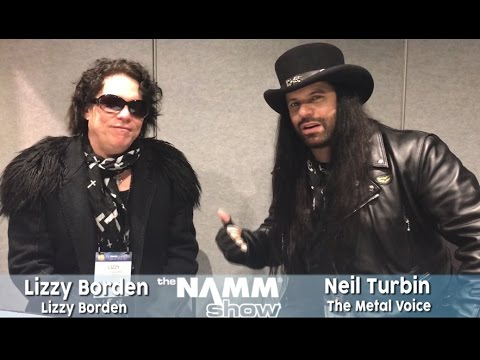 Lizzy Borden interview 'New Single May, New album Aug 07'- The NAMM show-with Neil Turbin