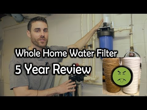 Review After 5 Years Pelican PC600 Whole House Water Filter Carbon Series