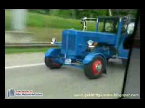 Traktor Autobahn