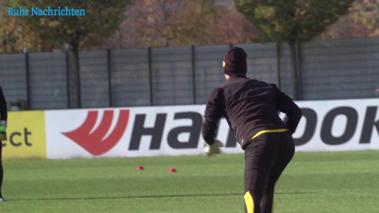 Torhüter Roman Bürki ist zurück im BVB-Training