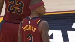 Isaiah Thomas YELLS at Refs for Laughing at Dwyane Wade