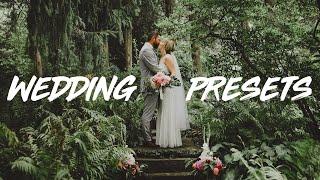 NEW WEDDING PHOTOGRAPHY PRESET PACK FOR LIGHTROOM!