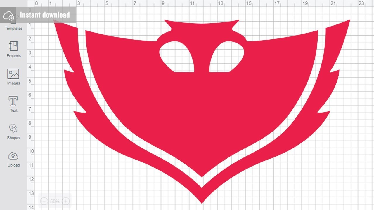 Pj Masks Svg Free Owlette Mask Svg Cutting Files To Free Download Youtube