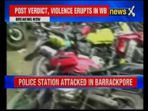 TMC men accused of vandalising police station in Barrackpore, Bengal