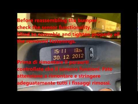 Opel Agila - outside temperature sensor replacement - sostituzione sensore temp.esterna [ITA/ENG]