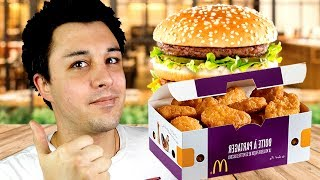 DEGUSTATION MCDO : NUGGETS - BIG MAC !