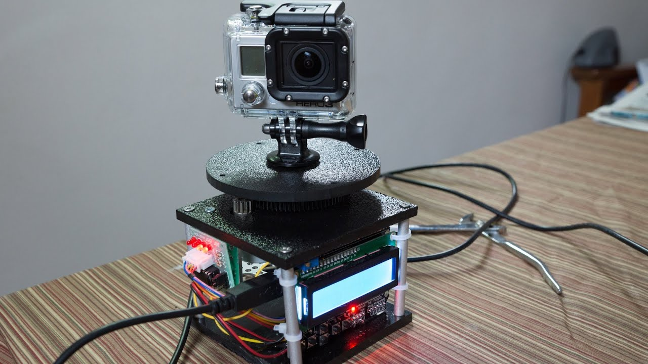 DIY Arduino powered GoPro Panning Rig - Demo & How-to - YouTube