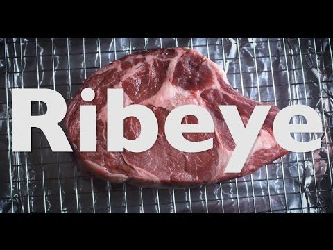 How To Reverse Sear Ribeye Steak | Dry Brine | Probe Thermometer | Ghee | Cooking | Recipe