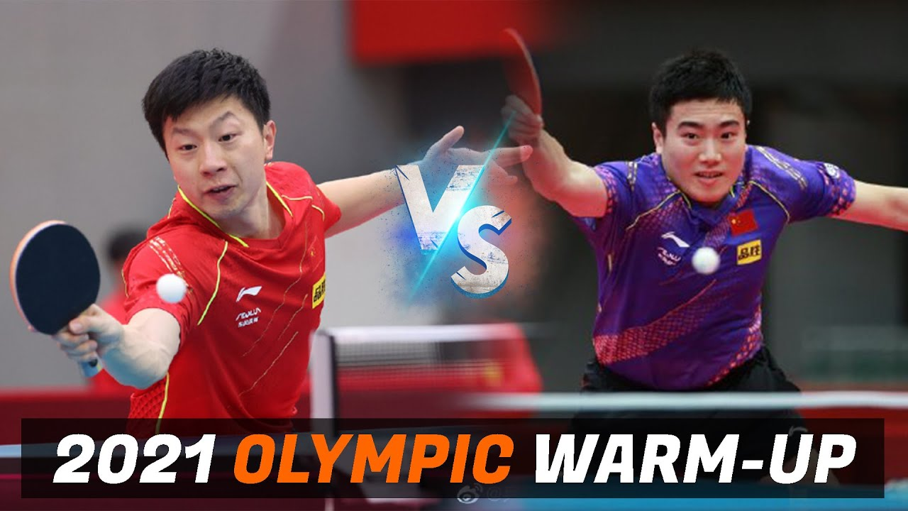 Download Ma Long vs Liang Jingkun | 2021 Chinese Warm-up for Olympic