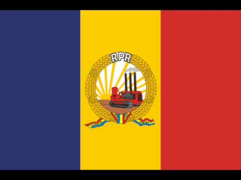 National anthem of People's Republic of Romania 1948-1953 ...