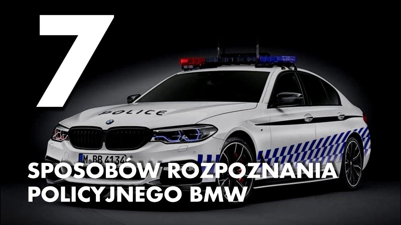 7 sposobów rozpoznania policyjnego BMW – #12 TOP10