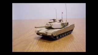 m1 abrams battle tank walk around finished 1 72 scale built hasegawa model tank kit