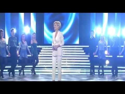 Riverdance performs on the Carmen Nebel Show German ZDF TV