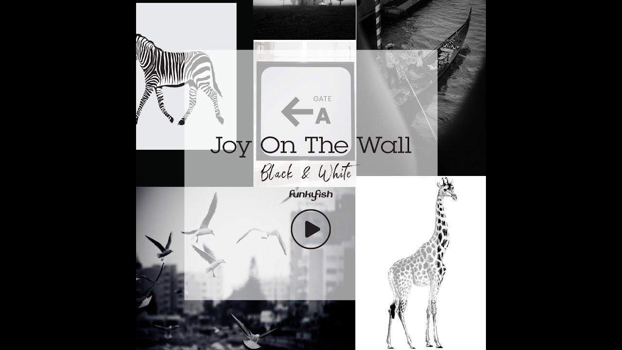 JOY ON THE WALL - DIY POSTER KIT