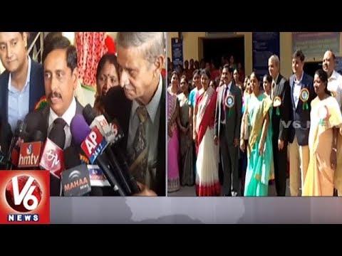 Hyderabad Metro Rail MD NVS Reddy Participates Kasturba Gandhi Junior College Day Celebrations | V6