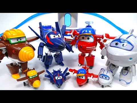 Thumbnail: Introducing New Super Wings!! Super Wings Season 2 Ace Doodoo Saetbeol Pigu