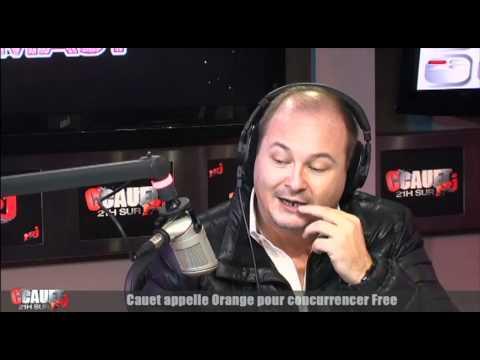 Cauet Appelle Orange Pour Concurrencer Free - C'Cauet Sur NRJ
