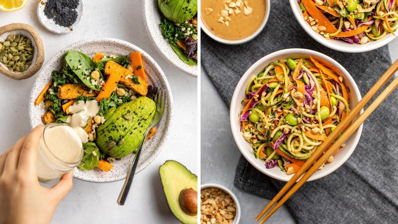 High-Protein Vegan Salad Recipes (20g+)