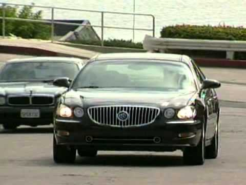 Buick LaCrosse Super 2008 Competitive Comparisons  YouTube