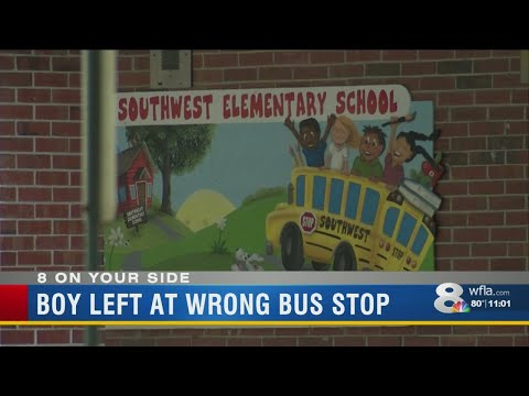 Lakeland school bus mix-up forces six year old to hitchhike home