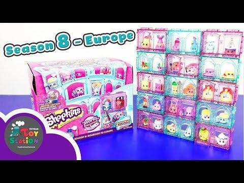 Shopkins Season 8 Europe du lịch Châu Âu ToyStation 173