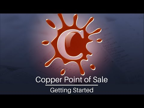 Getting Started with Copper Point-of-Sale (POS) Software
