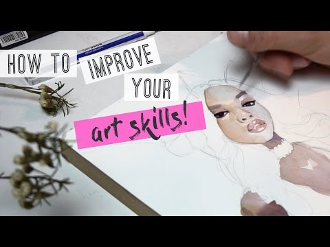 How to improve your art skills! DRAWING & PAINTING TUTORIAL