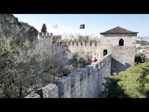 Walk Through The Castelo de São Jorge - The Castle In Lisbon