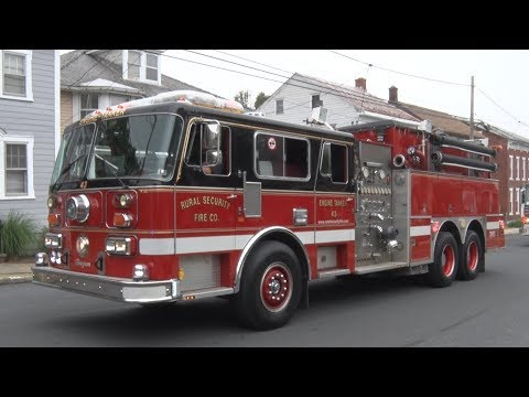 2017 Lebanon County PA Firefighter's Convention Parade  6/17/17