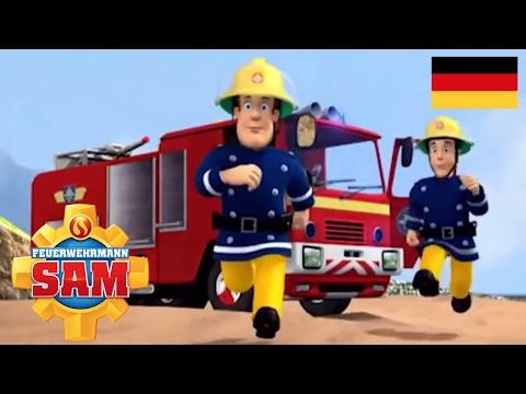 Feuerwehrmann Sam Deutsch   Cartoon für Kinder   Rettungsaktion Feuerwehr Station