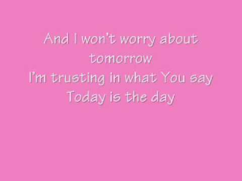 Today is the Day - Lincoln Brewster (with lyrics)