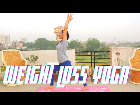 yoga-weight-loss-challenge-|-beginners-yoga---15-minute-fat-burning-|-indian-yoga---dolly's-studio